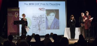 QWF Prize for Playwriting awarded at 2018 gala