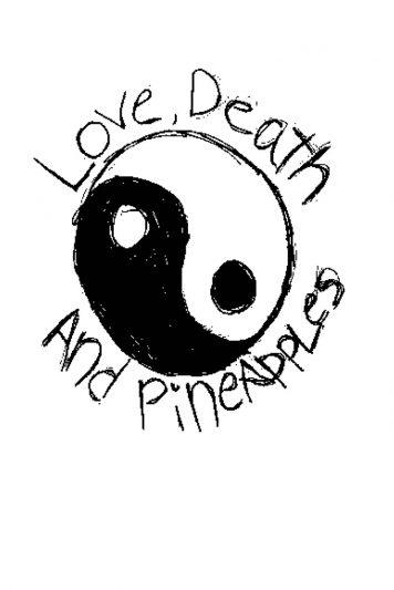 yin yang hand-drawn sign